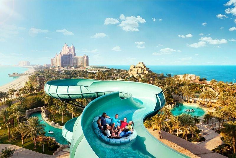 Parque acuático Atlantis Aquaventure, Dubái