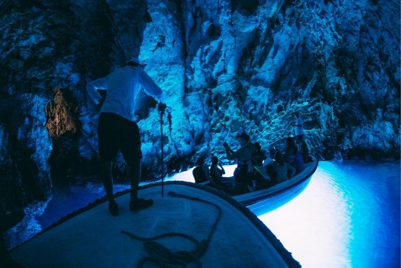 Excursion en bateau à Blue Cave au départ de Split