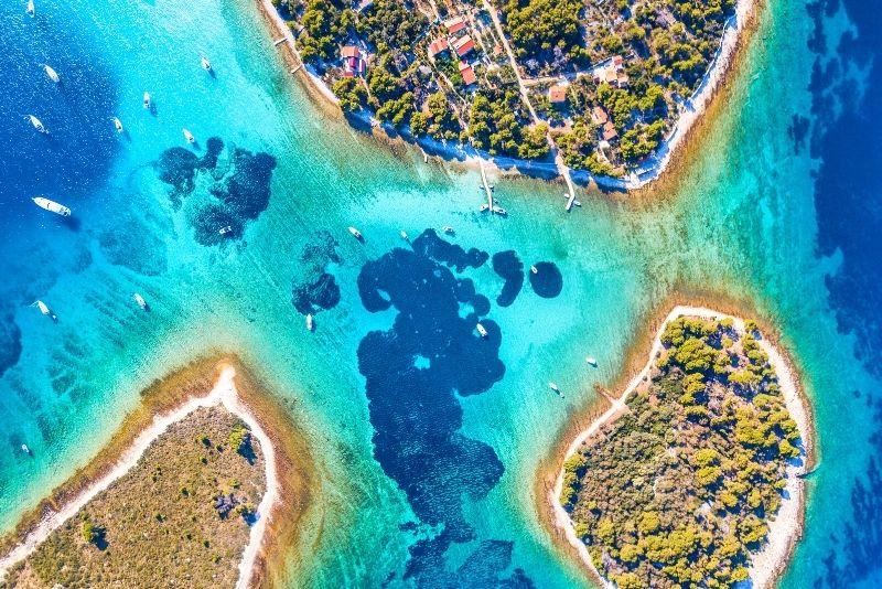 Excursion en bateau au Blue Lagoon au départ de Split
