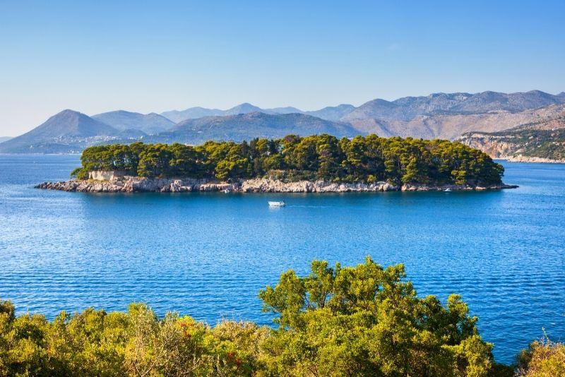 Daksa Island in der Nähe von Dubrovnik