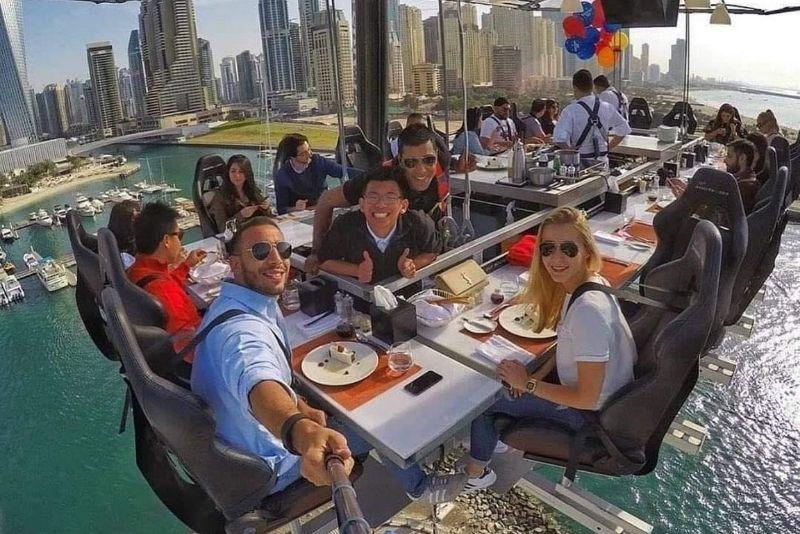 Dinner in the Sky, Dubái