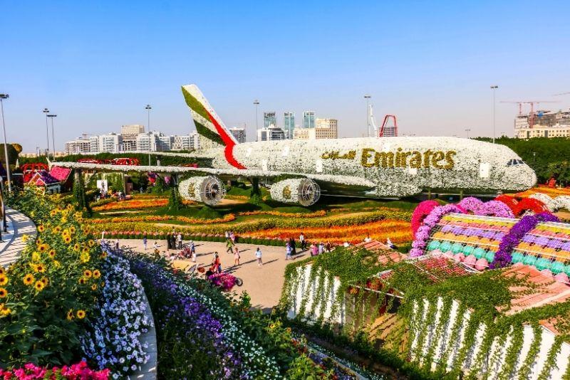 Jardín Milagro de Dubái