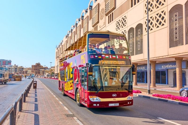Dubai Hop-on-Hop-off-Bustour