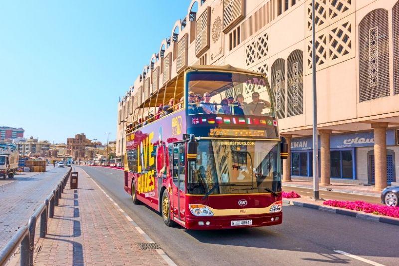 Tour en autobús turístico por Dubái