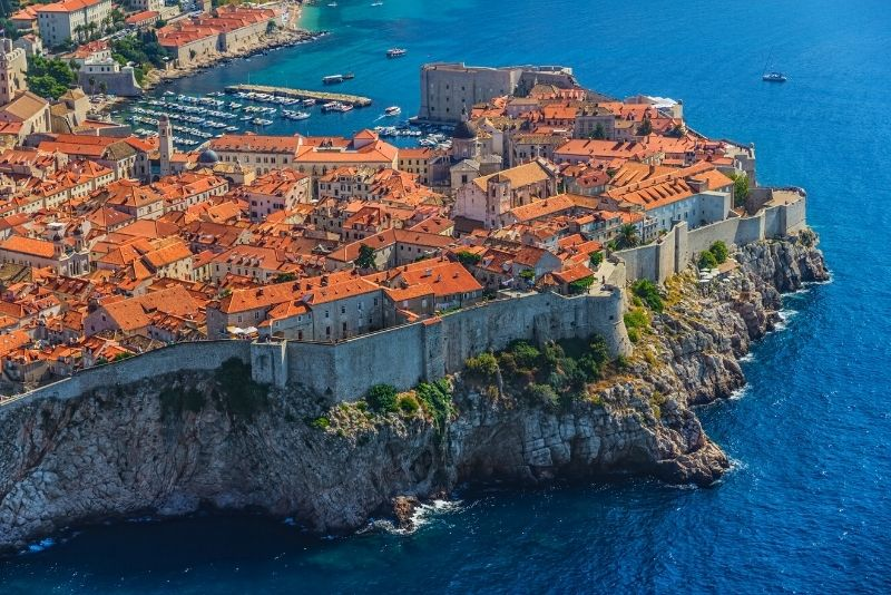 Dubrovnik city walls tour