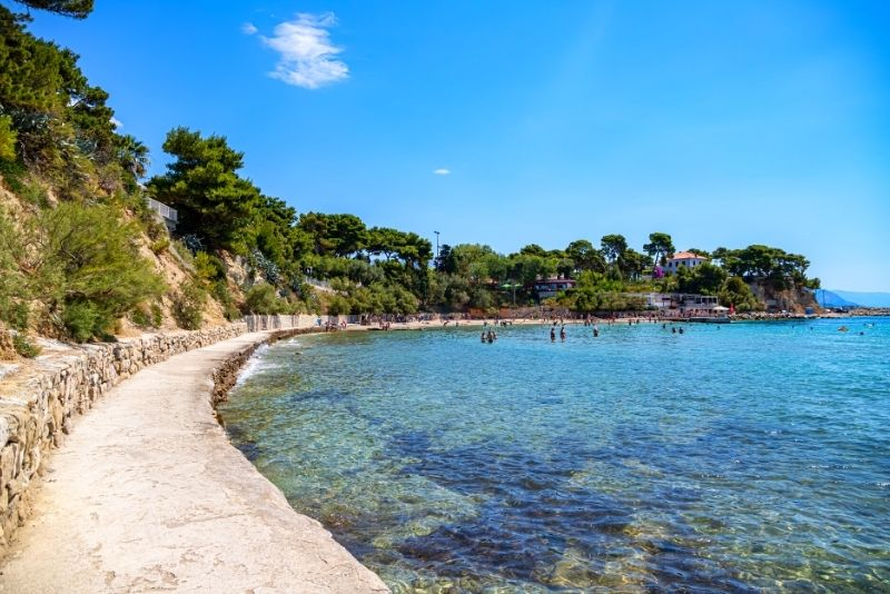 Plage de Firule près de Split