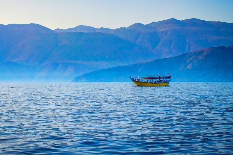 Fjords of Musandam day trip from Dubai