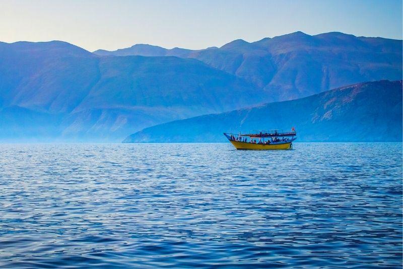 Excursión de un día a los fiordos de Musandam desde Dubái