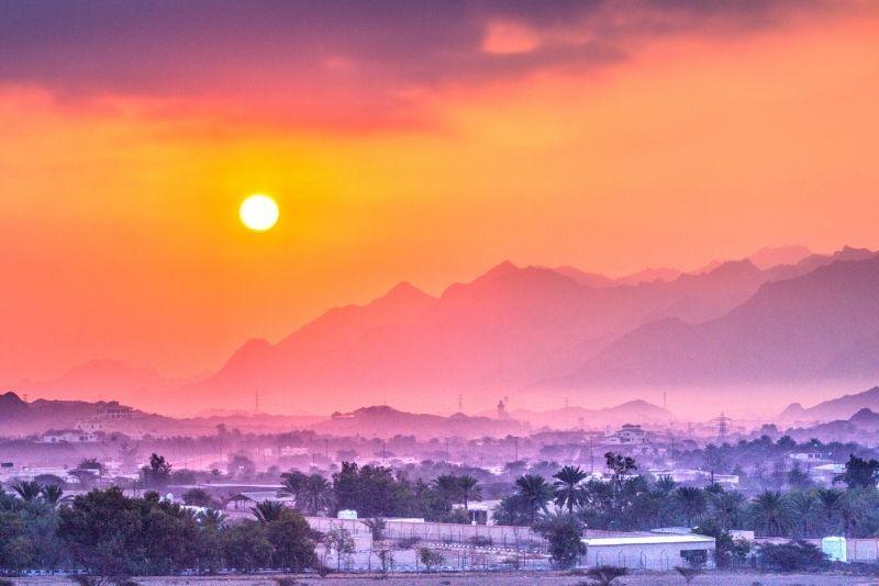 Hatta Mountain Tagesausflug von Dubai '