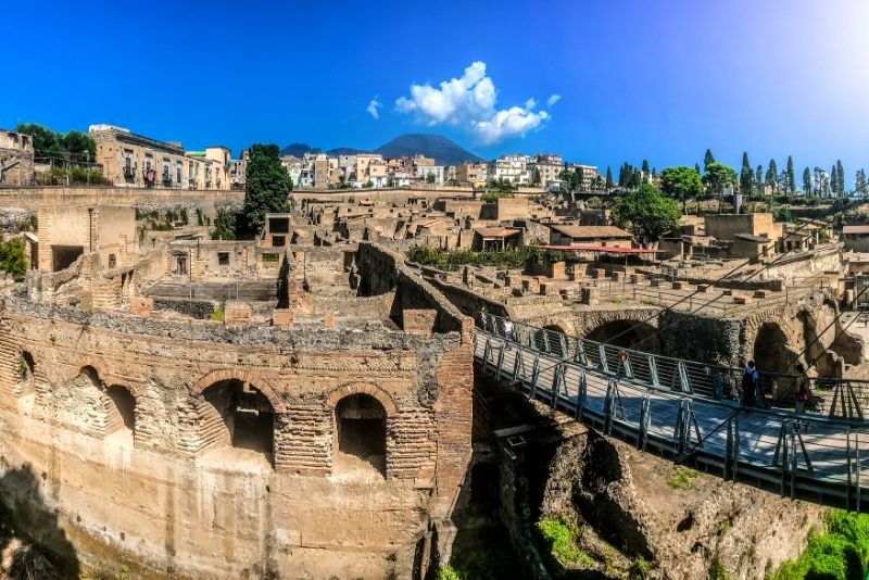 Herculaneum Ruinen