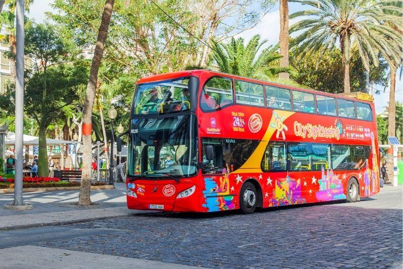 Tour in autobus hop on hop off di Las Palmas