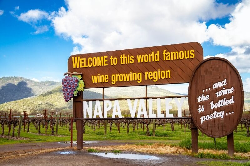 Napa Valley Tour by Private Car from San Francisco