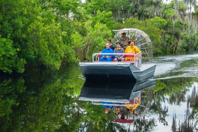 New Orleans High Speed 6-9 Passenger Airboat
