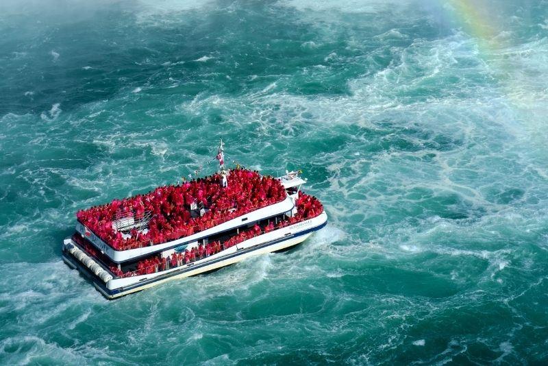 Niagara Falls, USA Canadian Tour & Maid of The Mist