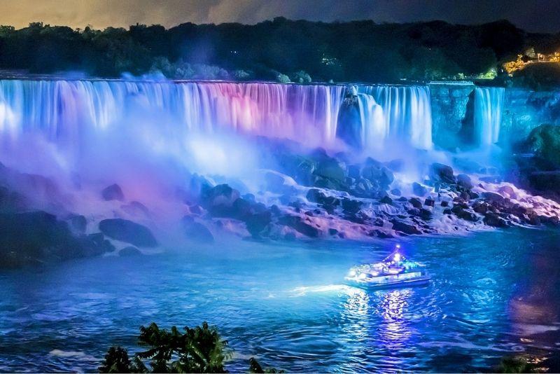 Niagara Falls, USA Illumination Tour with Maid of the Mist