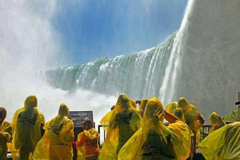 Niagara Falls in One Day Deluxe Sightseeing Tour of American and Canadian Sides