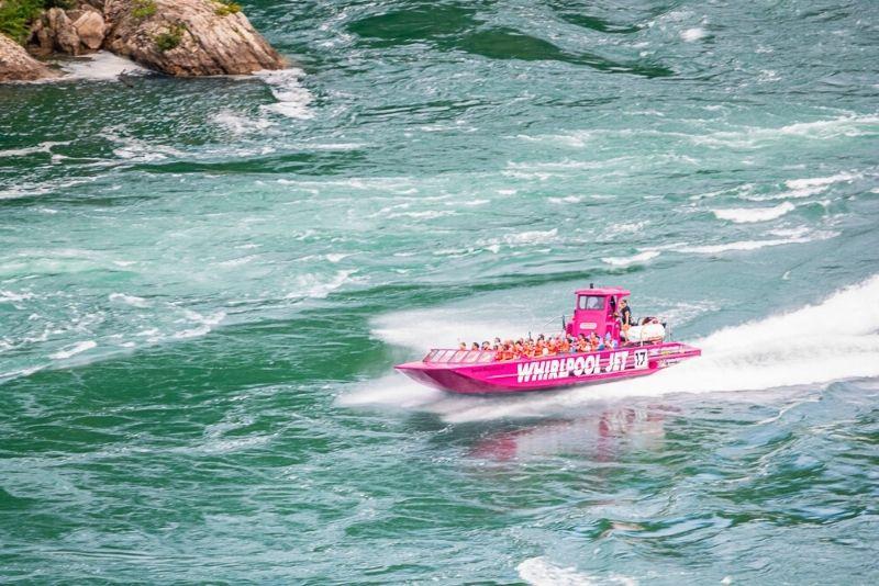 Niagara River Whirlpool Jet Boat Tour
