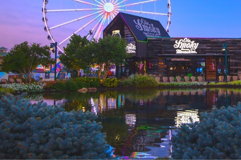 Ole Smoky distillery, Pigeon Forge