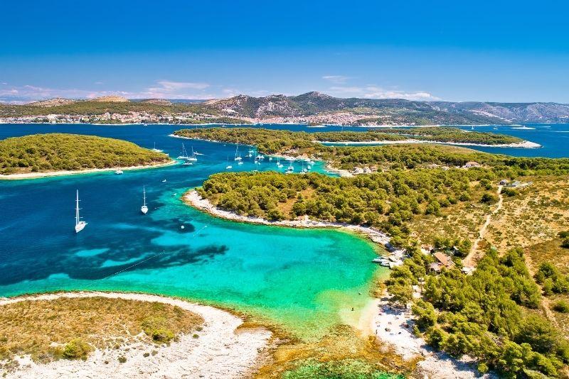 Excursion en bateau aux îles Pakleni au départ de Split