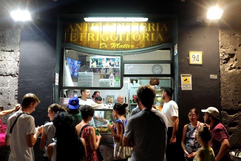 Pizzeria Di Matteo, Neapel