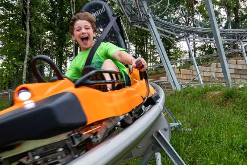 Rocky Top Mountain Coaster, Pigeon Forge