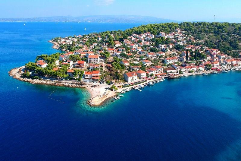 Île de Solta près de Split
