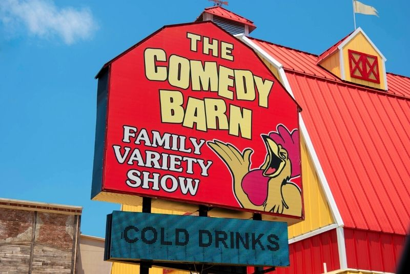The Comedy Barn, Pigeon Forge