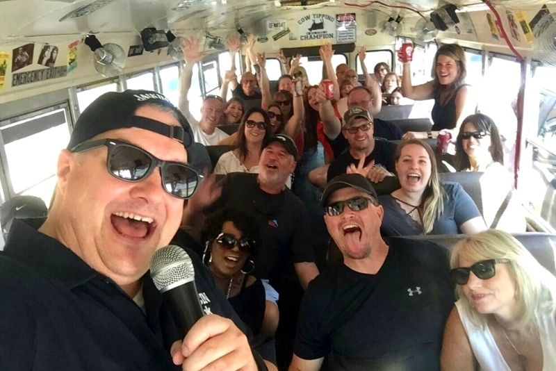 The Redneck Comedy Bus Tour, Pigeon Forge