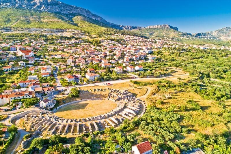 Les ruines romaines de Salona, Solin
