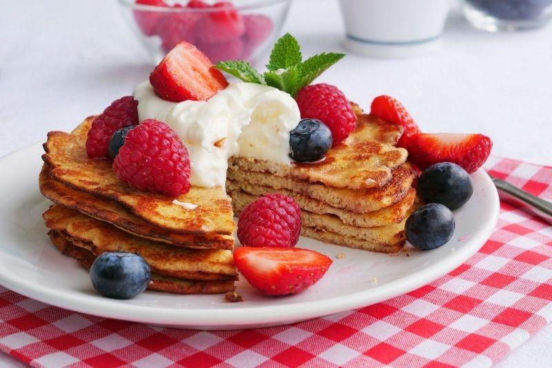 breakfast at Sawyer's Farmhouse Restaurant