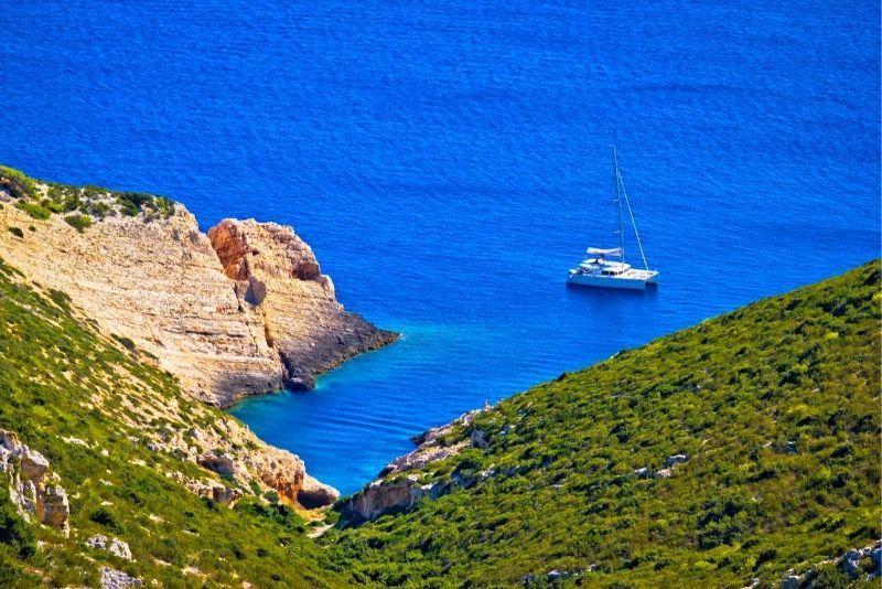 croisière en catamaran à Split