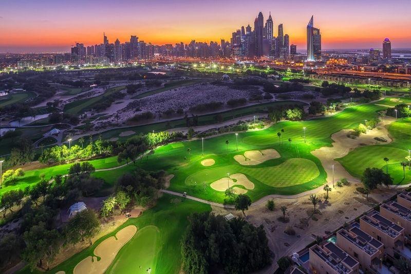 Golfplatz in Dubai