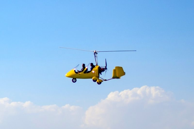 gyrocopter tour in Dubai