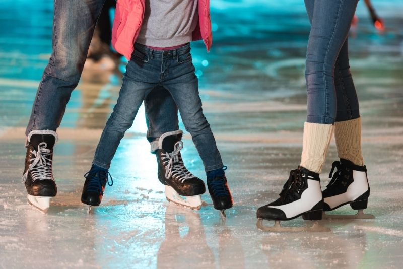 ice skating Ober Gatlinburg