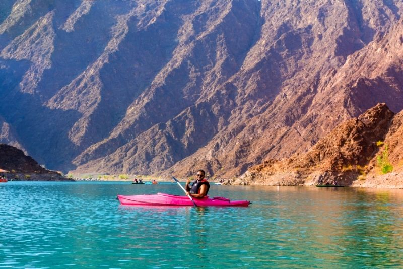 kayak en Dubai