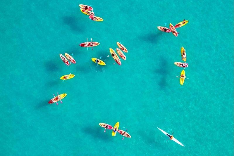 kayak a Gran Canaria