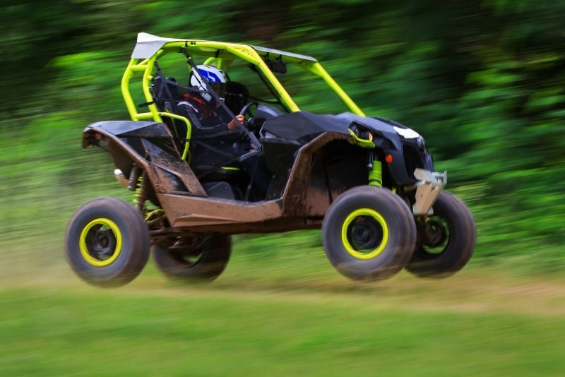 off-road buggy tour near Pigeon Forge
