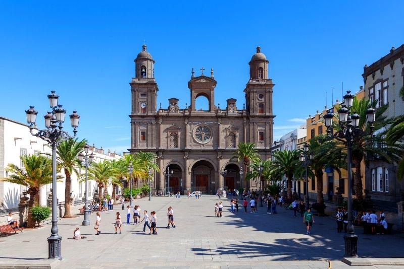 città vecchia Vegueta a Las Palmas, Gran Canaria