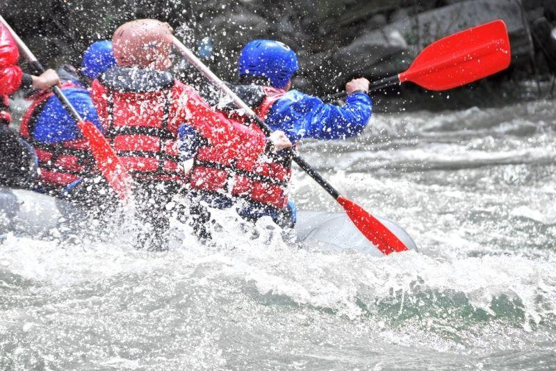 rafting in Pigeon River