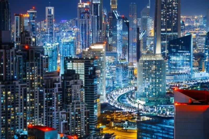 rooftops in Dubai