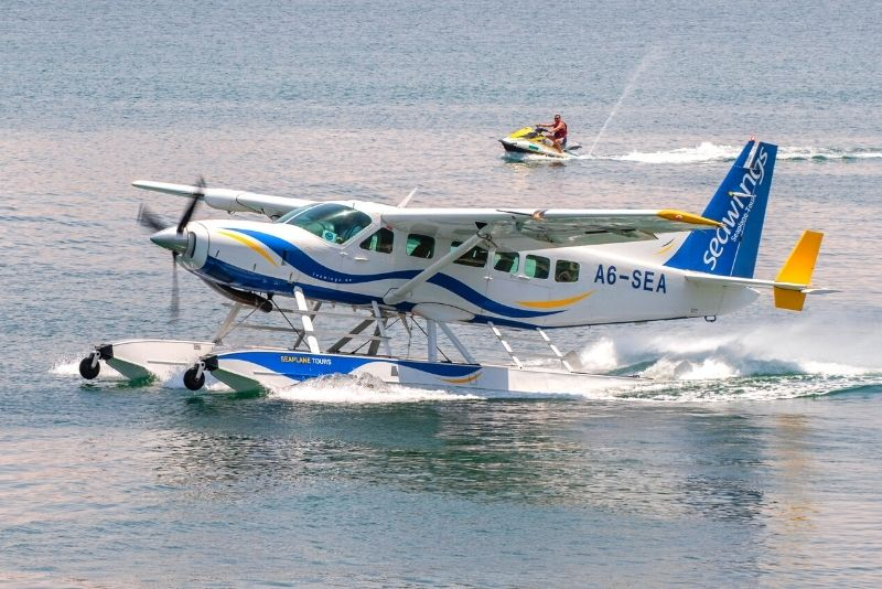 seaplane tour in Dubai
