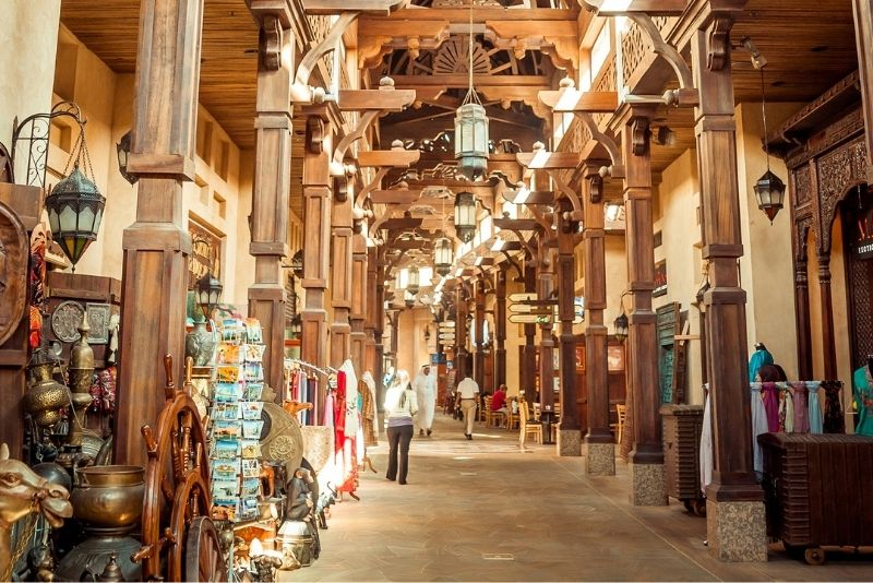 souk in Dubai