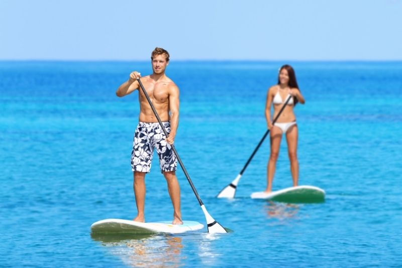 Stand Up Paddle in Dubai