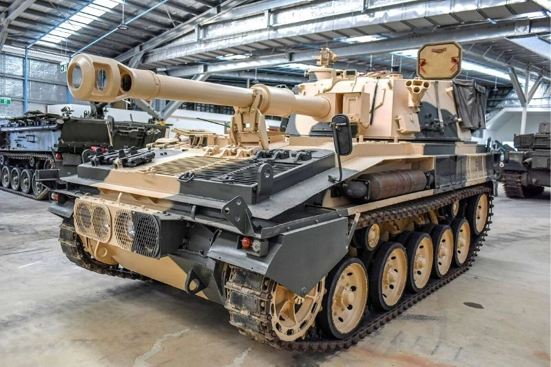 Australian Armour and Artillery Museum in Cairns