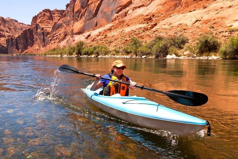 Kayaking Grand Canyon (Black Canyon)