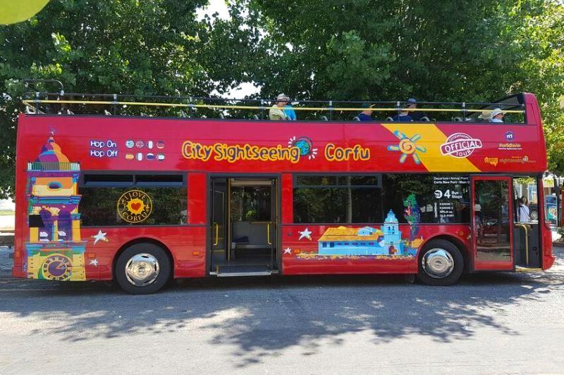City Sightseeing Bus Corfu