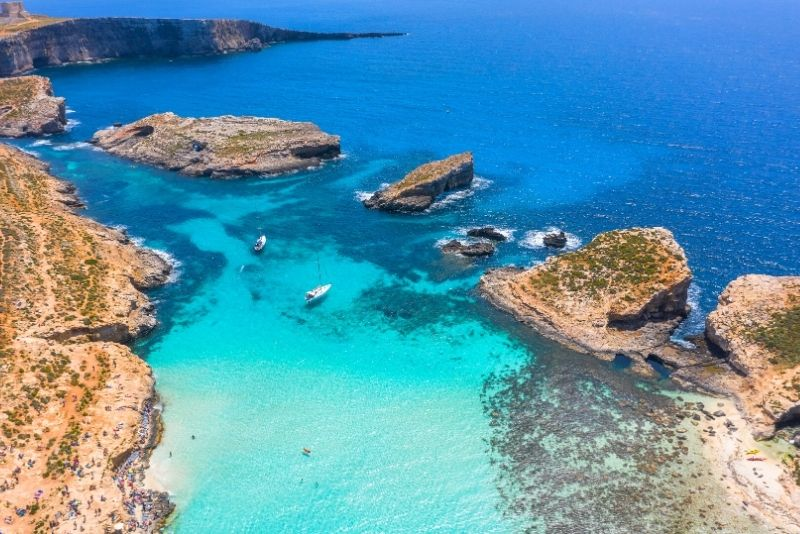 Comino & the Blue Lagoon. Malta