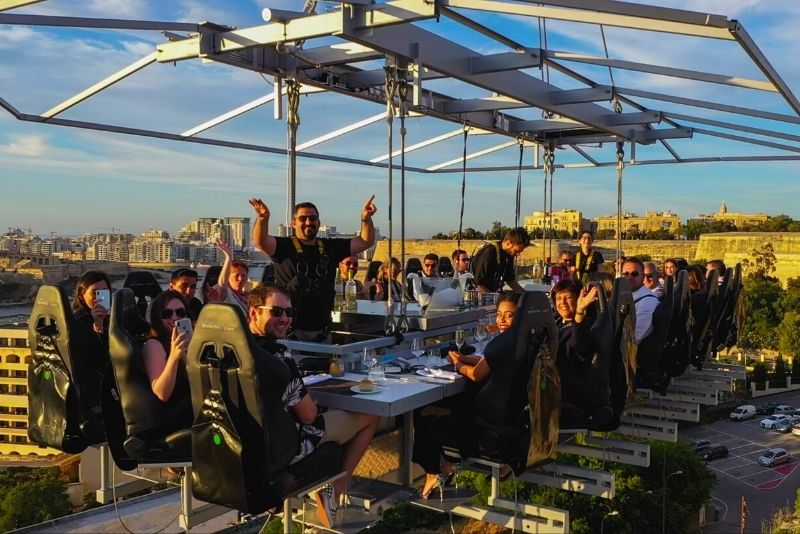 Dinner in the Sky, Malta