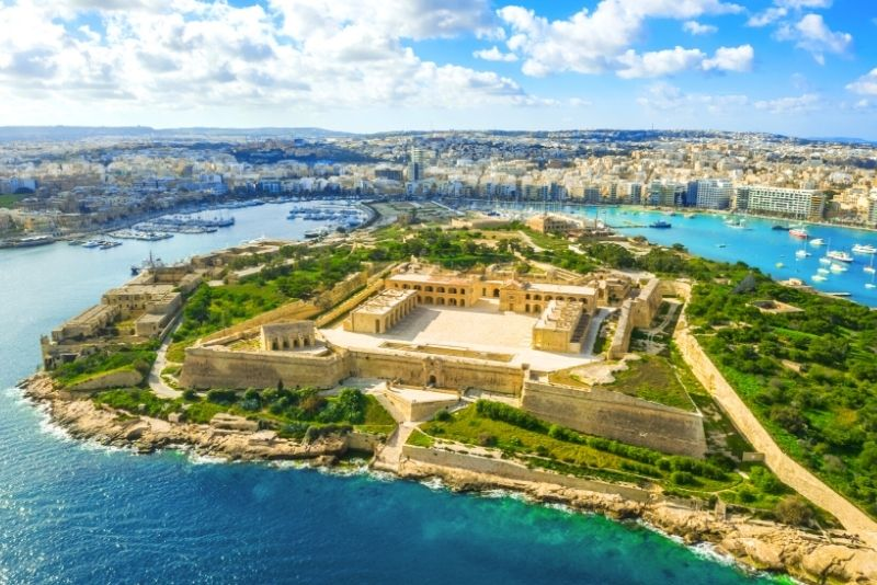 Fort Manoel, Valletta