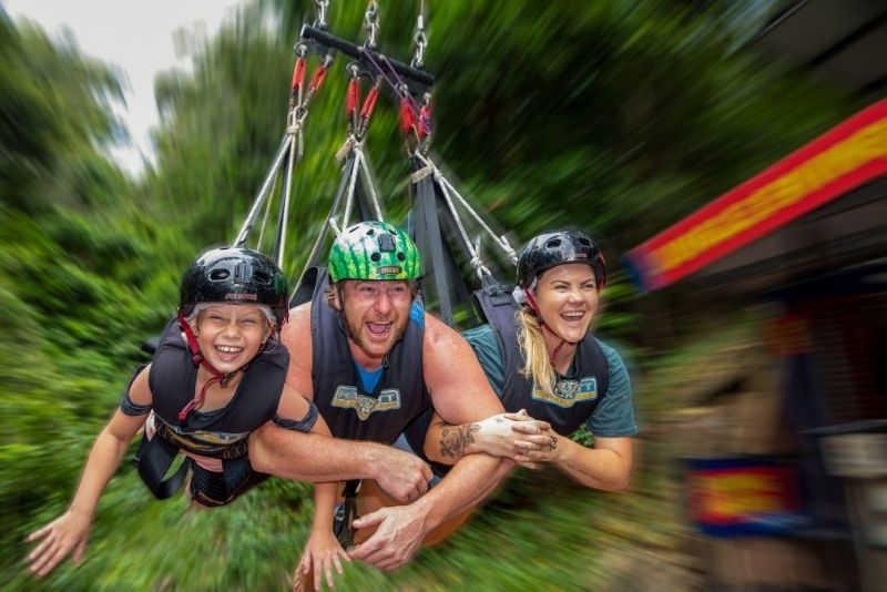 Giant Jungle Swing, Skypark by AJ Hackett in Cairns